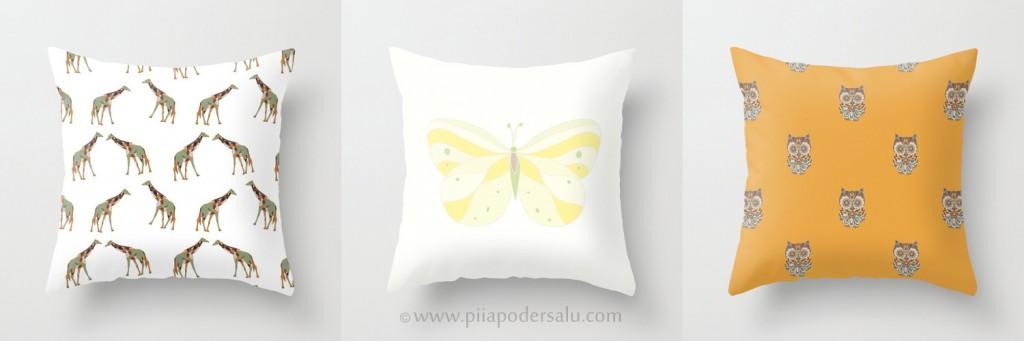 Kids Throw Pillow Patterns